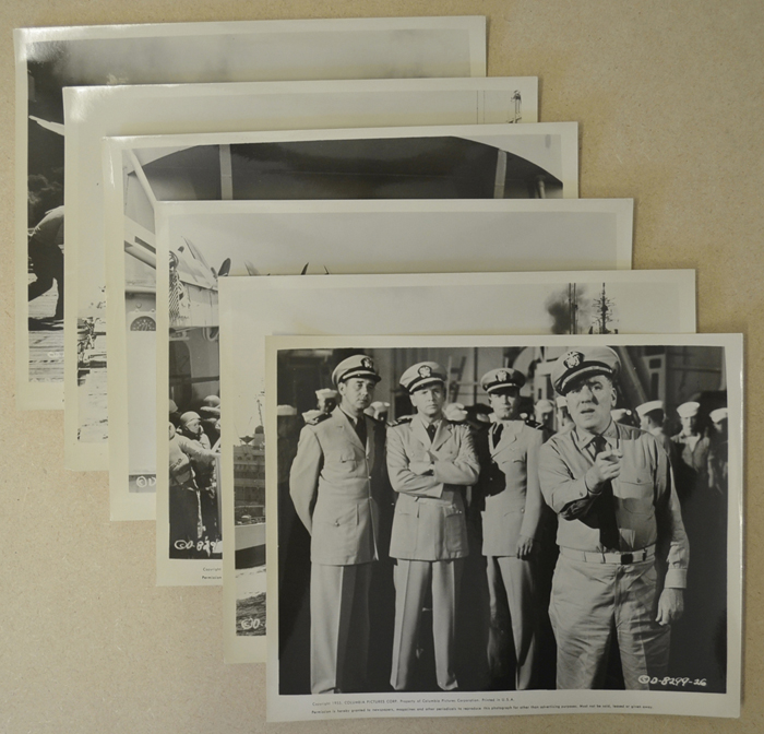 Battle Stations <p><i> 6 Original Black And White Press Stills - Set C </i></p>