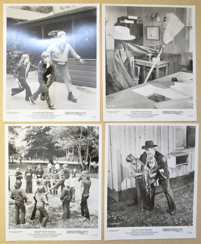 Escape To Witch Mountain <p><i> 4 Original Black And White Press Stills </i></p>