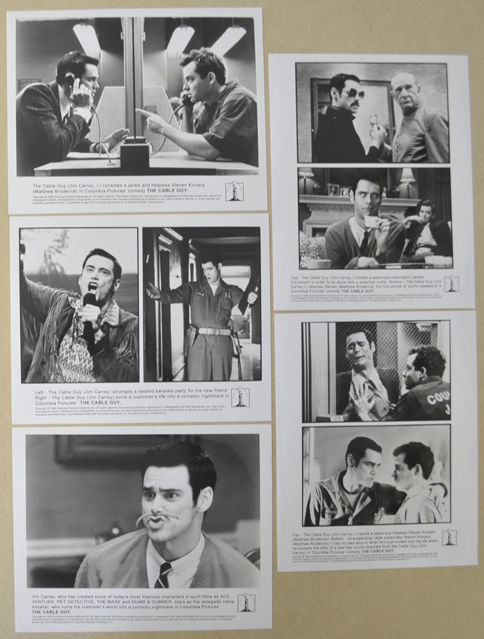 Cable Guy (The) <p><i> 5 Original Black And White Press Stills </i></p>