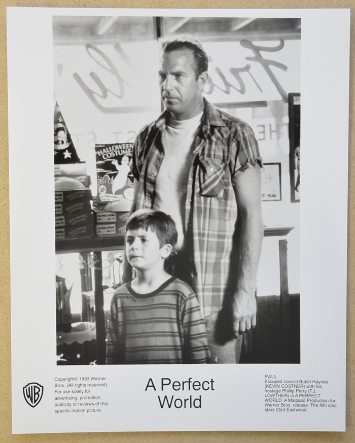 A Perfect World <p><i> Original Black And White Press Still </i></p>