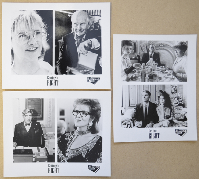Getting It Right <p><i> 3 Original Black And White Press Stills </i></p>