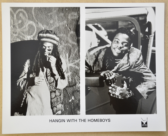Hangin' With The Homeboys <p><i> Original Black And White Press Still </i></p>