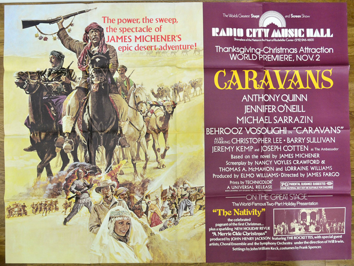 Caravans <p><i> (Radio City Music Hall Design) </i></p>
