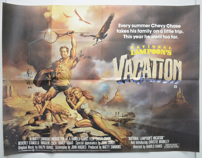 National Lampoon's Vacation - Original Cinema Movie Poster From ...