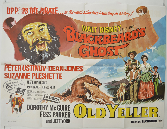 Blackbeard's Ghost / Old Yeller <p><i> (Double Bill) </i></p>