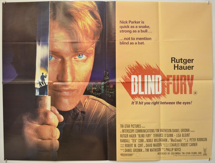 Blind Fury - Original Cinema Movie Poster From pastposters.com ...