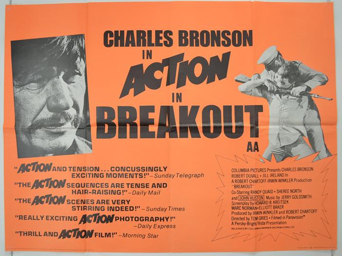 Breakout - Original Cinema Movie Poster From pastposters.com ...