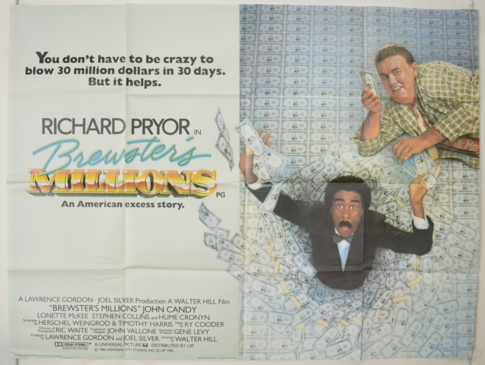 Brewster's Millions - Original Cinema Movie Poster From ...