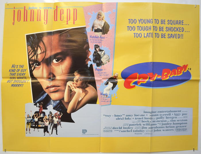 Cry-Baby - Original Cinema Movie Poster From pastposters.com ...