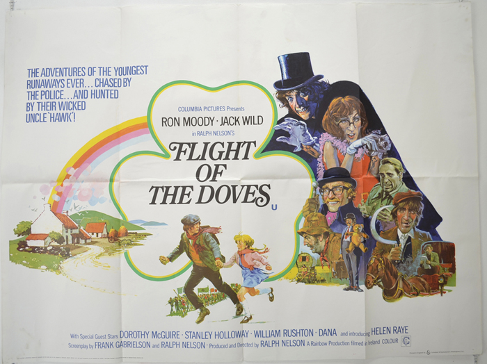 Flight Of The Doves - Original Cinema Movie Poster From ...