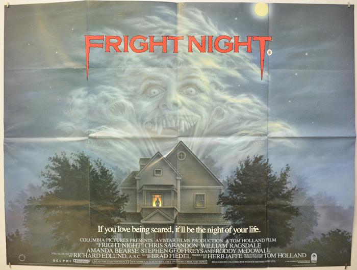 Fright Night - Original Cinema Movie Poster From pastposters