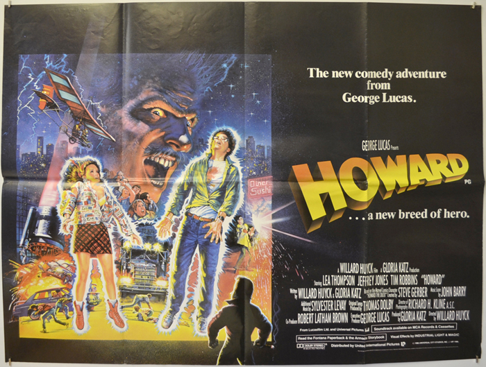 Howard The Duck Movie Poster Howard... A New Breed ...