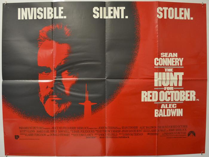 Hunt For Red October (The) - Original Cinema Movie Poster