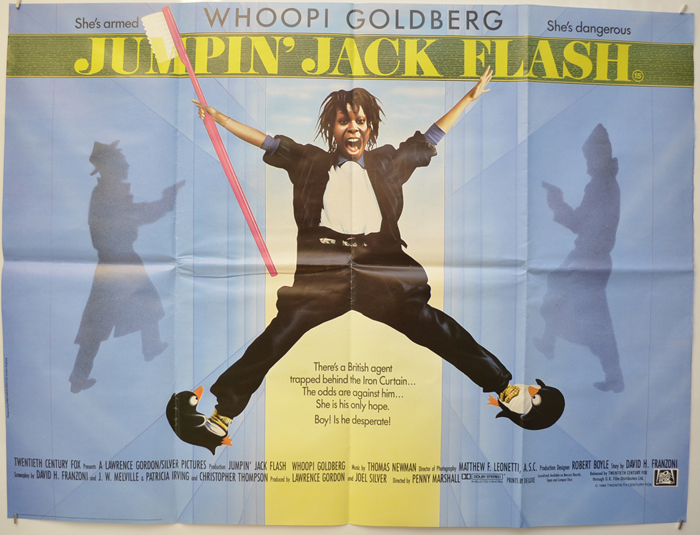 Jumpin' Jack Flash - Original Cinema Movie Poster From pastposters ...