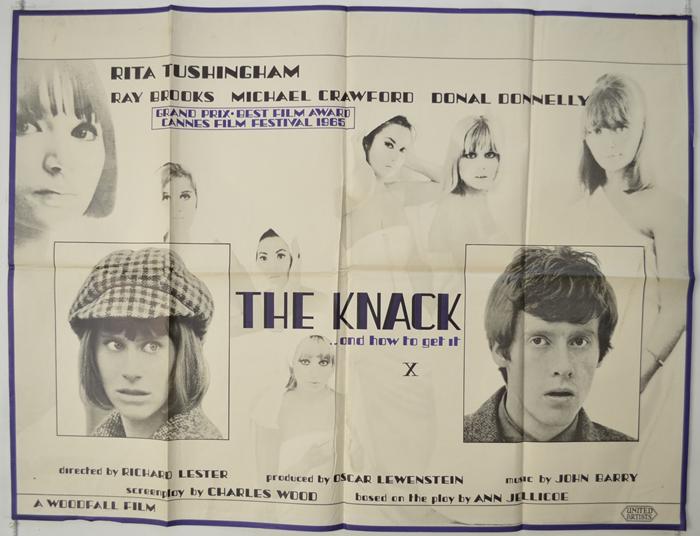 Knack (The) - Original Cinema Movie Poster From pastposters.com ...