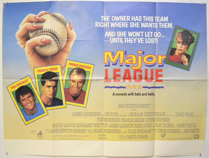 Major League - Original Cinema Movie Poster From pastposters.com ...