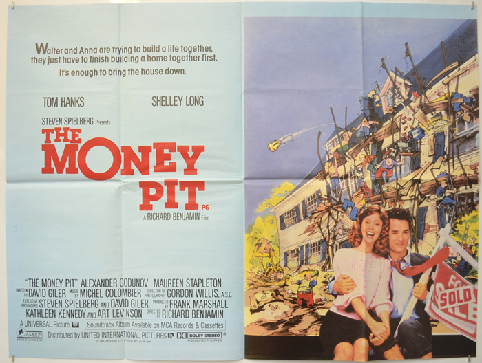 Money Pit (The) - Original Cinema Movie Poster From pastposters ...