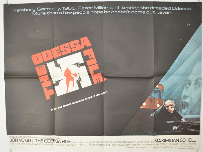 Odessa File (The) - Original Cinema Movie Poster From pastposters ...