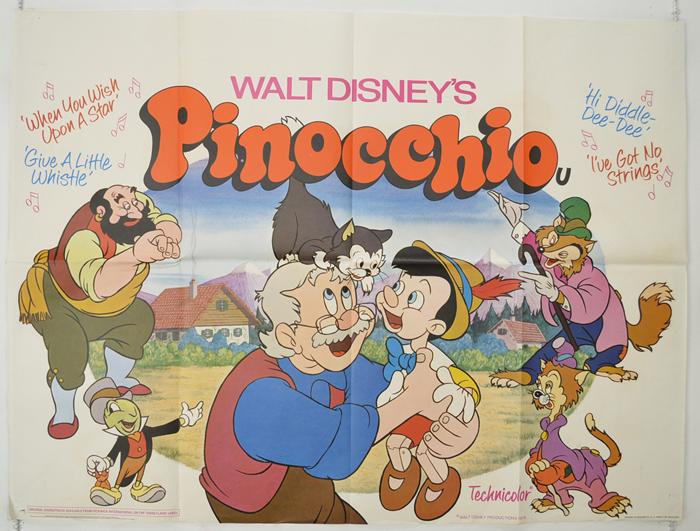 Pinocchio <p><i> (1978 re-release) </i></p> - Original Cinema ...