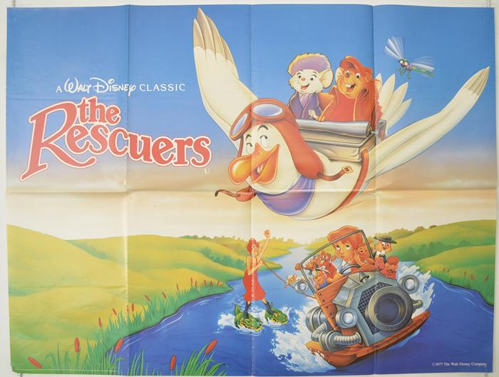 Rescuers (The) <p><i> (1989 re-release) </i></p> - Original Cinema ...