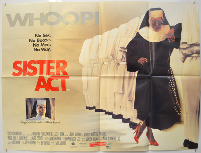 Sister Act - Original Cinema Movie Poster From pastposters.com ...