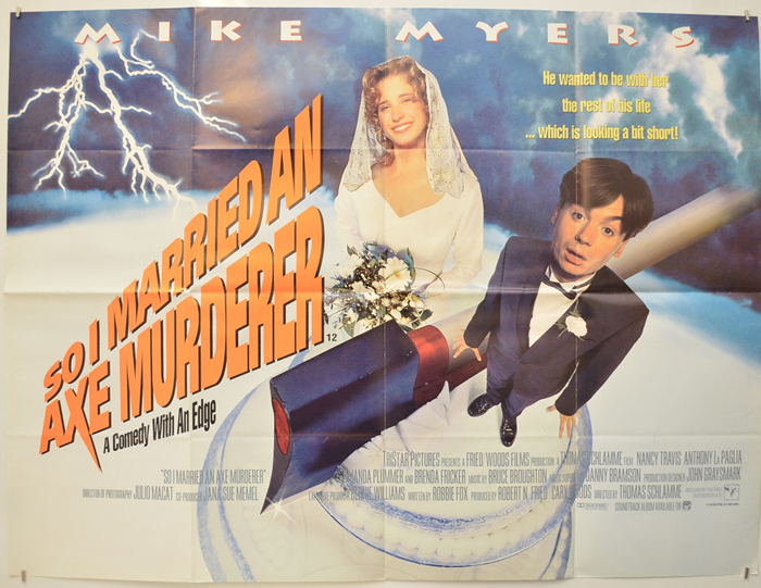 So I Married An Axe Murderer - Original Cinema Movie Poster From ...