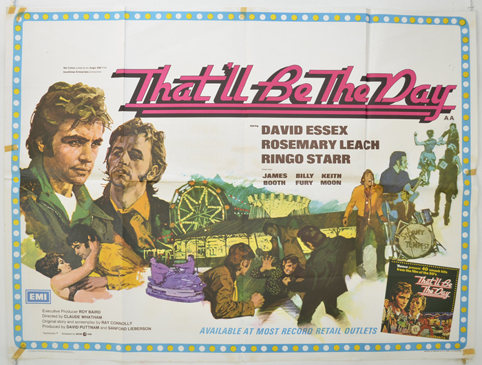 That'll Be The Day - Original Cinema Movie Poster From pastposters ...