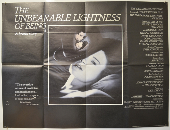 Unbearable Lightness Of Being (The)