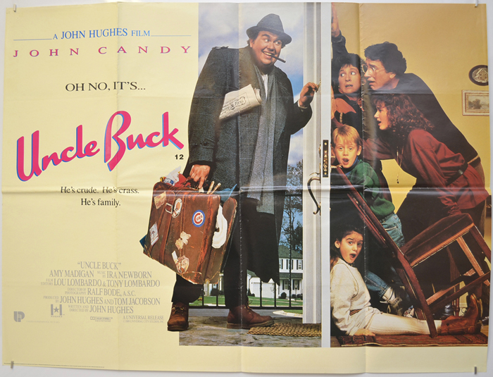 Uncle Buck - Original Cinema Movie Poster From pastposters.com ...