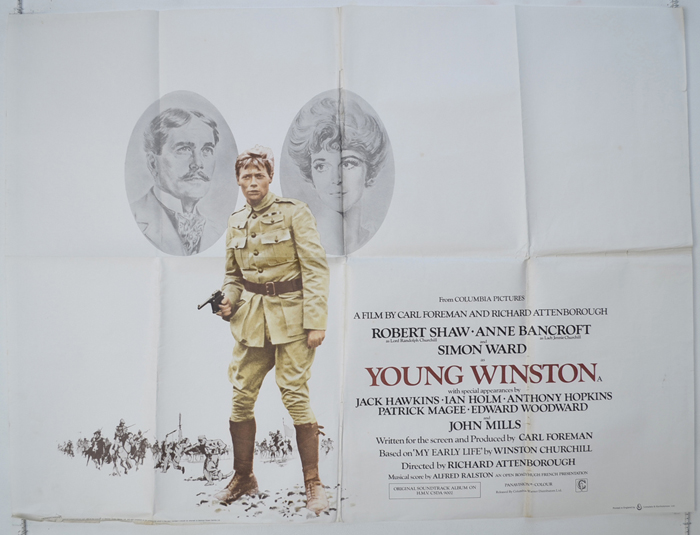 Young Winston - Original Cinema Movie Poster From pastposters.com ...