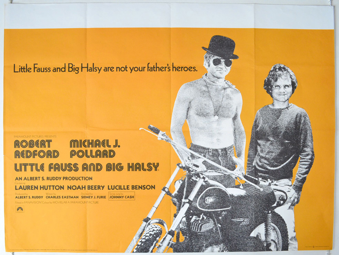 Little Fauss And Big Halsy - Original Cinema Movie Poster From ...