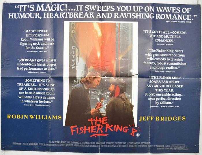 Fisher King (The) - Original Movie Poster