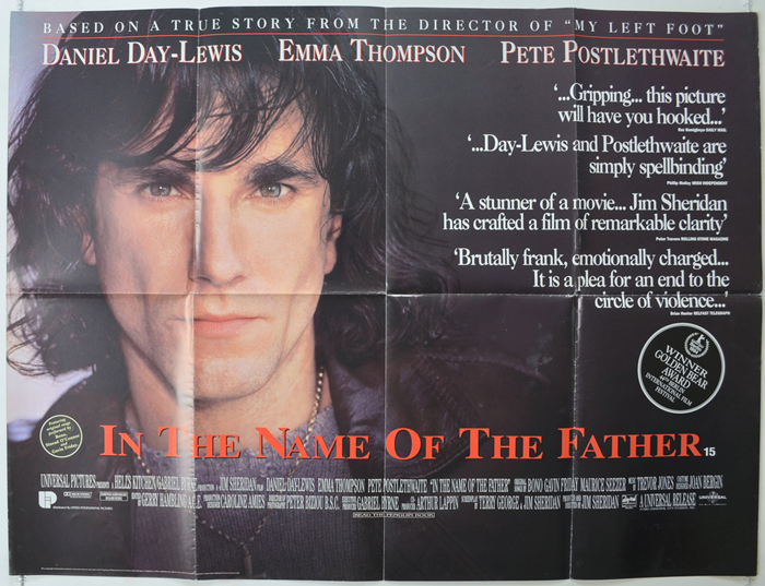 In The Name Of The Father - Original Cinema Movie Poster From ...