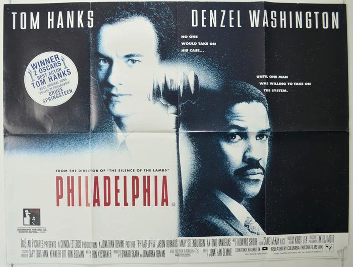 Philadelphia - Original Cinema Movie Poster From pastposters.com ...