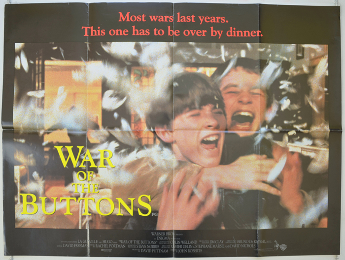 War Of The Buttons - Original Cinema Movie Poster From pastposters ...