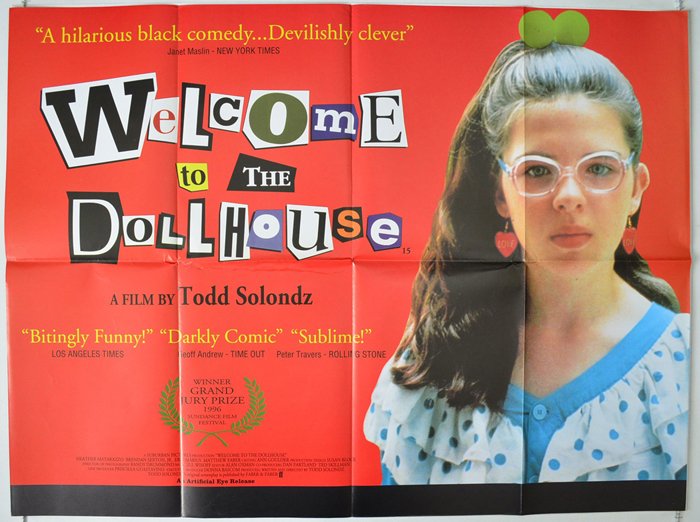 Welcome To The Dollhouse Original Cinema Movie Poster From