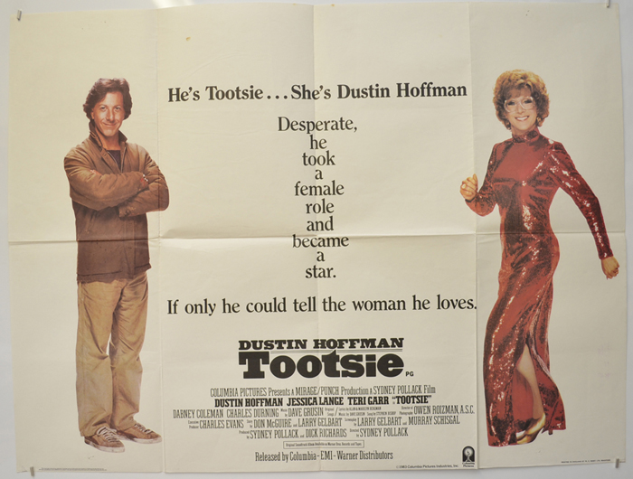 Tootsie - Original Cinema Movie Poster From pastposters.com ...