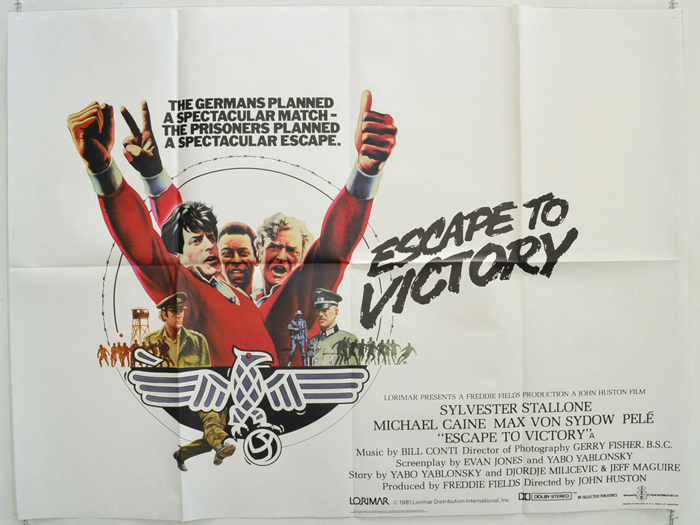 Escape To Victory - Original Cinema Movie Poster From pastposters ...