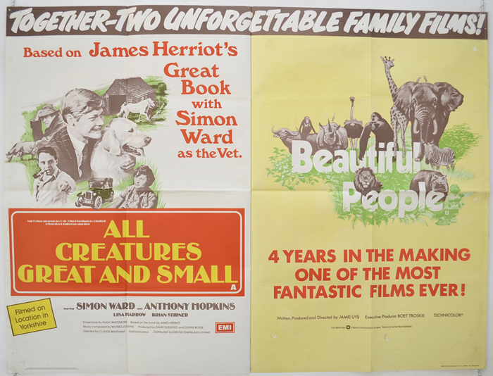 All Creatures Great And Small / Beautiful People <p><i> (Double Bill) </i></p>