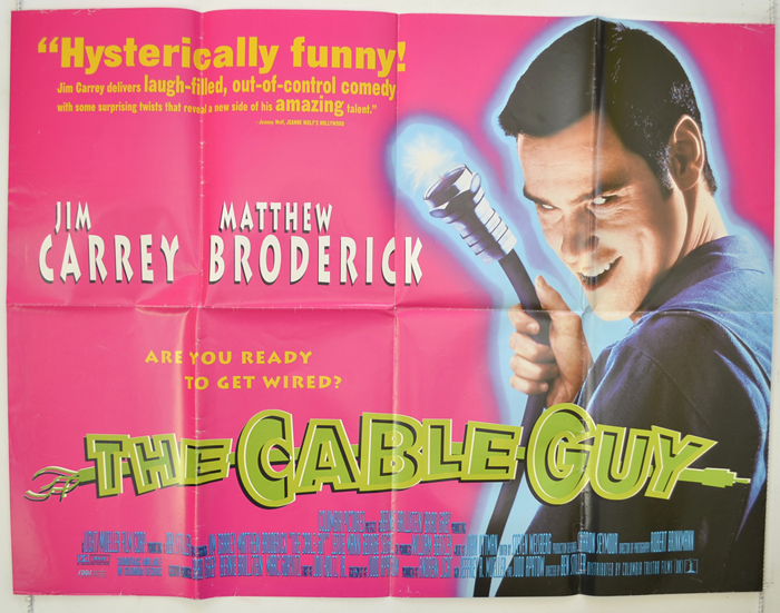 Cable Guy (The) - Original Cinema Movie Poster From pastposters ...