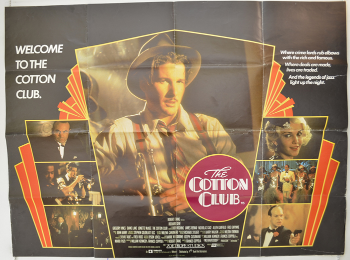 Cotton Club (The) - Original Cinema Movie Poster From pastposters ...