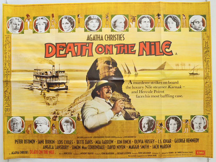 Death On The Nile - Original Cinema Movie Poster From pastposters ...