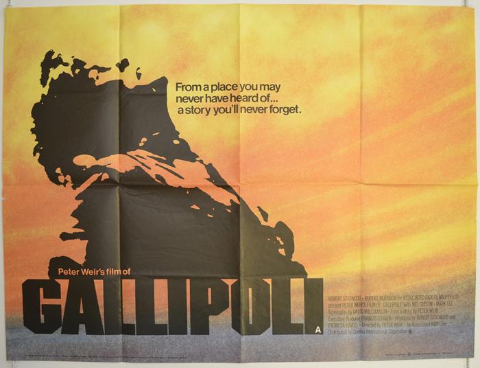 Gallipoli - Original Cinema Movie Poster From pastposters.com ...