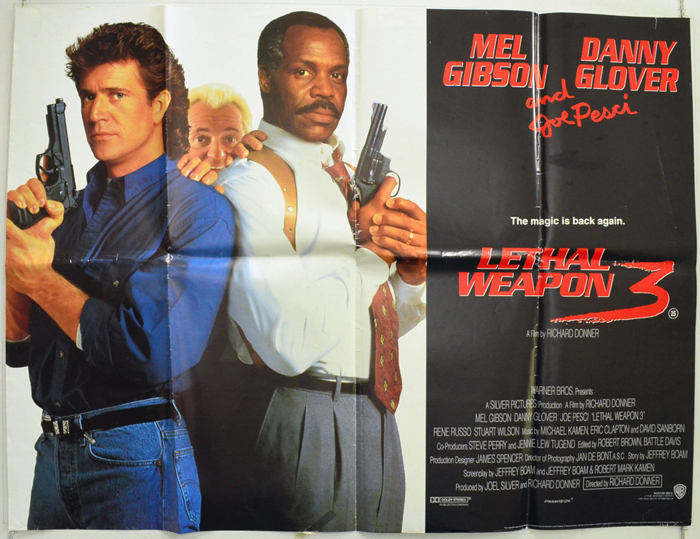 Lethal Weapon 3 - Original Cinema Movie Poster From pastposters ...