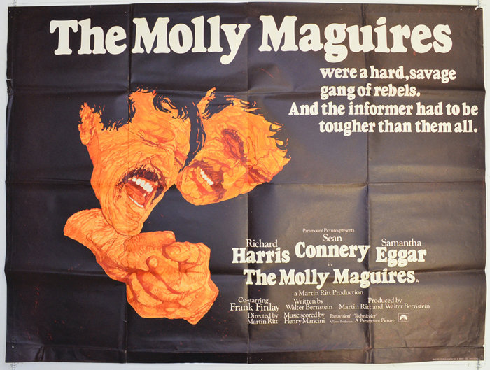 Molly Maguires (The) - Original Cinema Movie Poster From ...