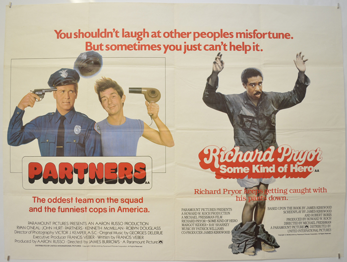 Partners / Some Kind Of Hero <p><i> (Double Bill) </i></p