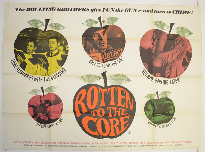 Rotten To The Core - Original Cinema Movie Poster From pastposters ...