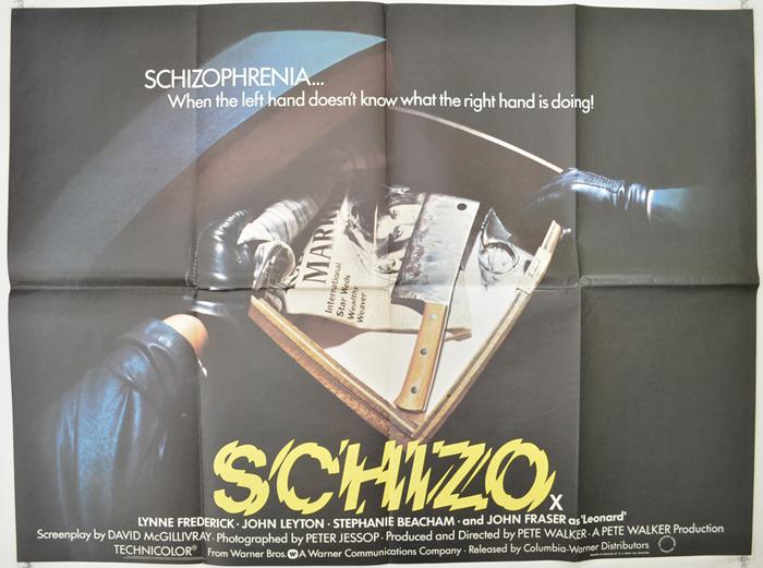 Schizo - Original Cinema Movie Poster From pastposters.com British ...