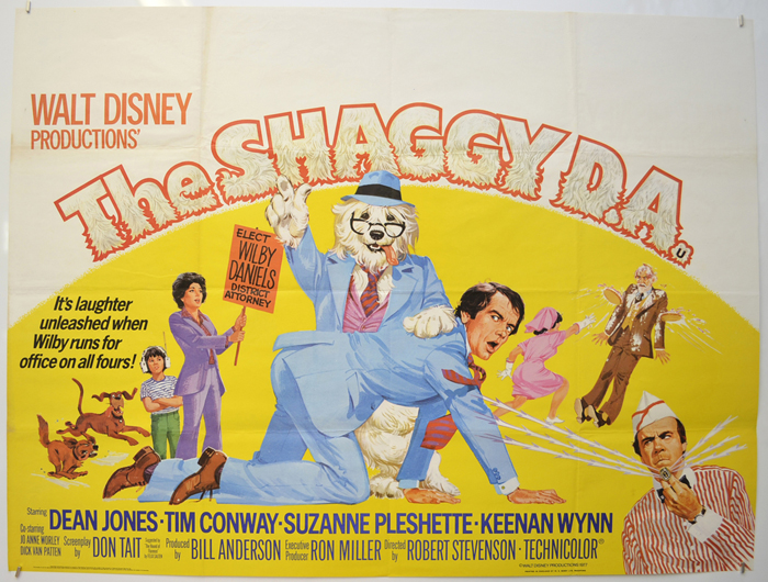 Shaggy D.A. (The) - Original Cinema Movie Poster From pastposters ...