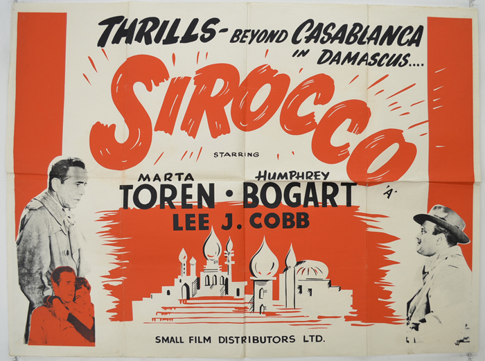 Sirocco - Original Cinema Movie Poster From pastposters.com ...
